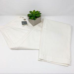 Eileen Fisher Organic Cotton Stretch Twill Pants